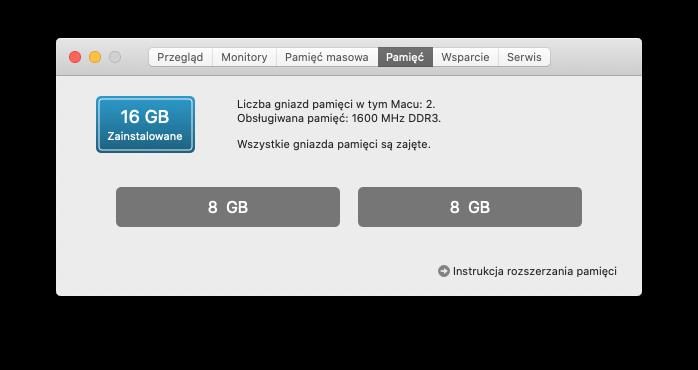 Corsair DDR3 16GB SODIMM MAC – CMSA16GX3M2A1600C11
